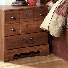 Oakridge 3 Drawer Nightstand