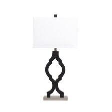 "Rosetta 31.75"" H Table Lamp with Rectangular Shade"