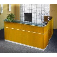Napoli Series L-Shape Reception Desk