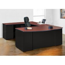 CSII U-Shape Exec/Comp Desk