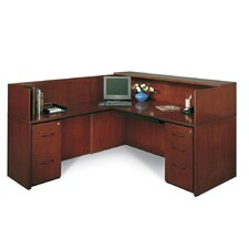Corsica Series L-Shape Reception Desk