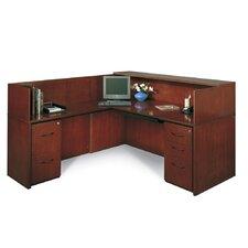Corsica Series L-Shape Reception Desk