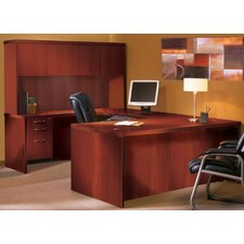 Aberdeen Series U-Shape Executive Desk with Hutch