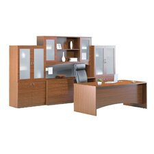 Brighton 7-Piece Series Standard Desk Office Suite