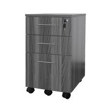 Medina Series 3-Drawer Pedestal File