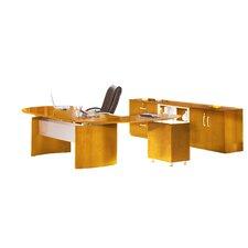 Napoli Series 2-Peice Standard Desk Office Suite