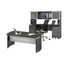 Medina Series 3-Piece Standard Desk Office Suite