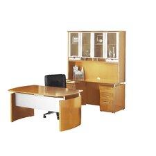 Napoli Series 4-PIece Standard Desk Office Suite