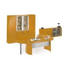 Napoli Series 4-Piece L-Shape Desk Office Suite