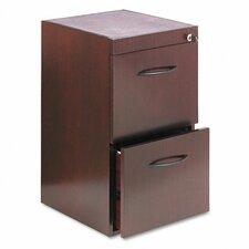 Corsica Series 2-Drawer Pedestal File for Credenza / Return File-File