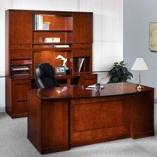 Sorrento 5-Piece Series Standard Desk Office Suite