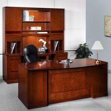 Sorrento Series 5-Piece Standard Desk Office Suite
