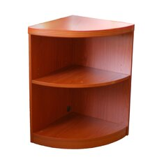 "2 Shelf Quarter Round 29.5"" Corner Unit"