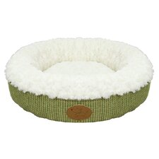 Curl Plush Doughnut Dog Bed (Set of 10)