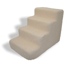 Lambswool 4 Step Pet Stair (Set of 2)