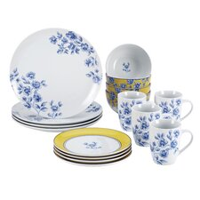 Signature Spring 16 Piece Place Setting Set