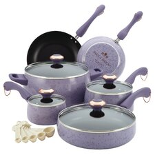 Signature Porcelain 15-Piece Cookware Set