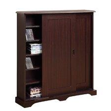 Entertainment Sliding Door Multimedia Cabinet