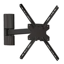 "3 Way Movement Extending Arm/Tilt/Swivel Wall Mount for 17"" - 42"" Flat Panel Screens"