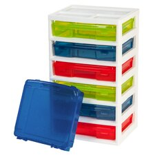 6 Case Activity Chest with Organizer Top