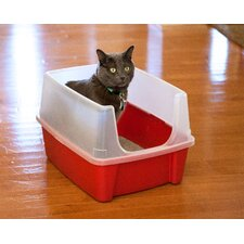 Litter Box with Shield and Scoop