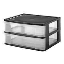 2 Drawer Desktop Organizer