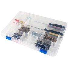Snap-Tight Supply Case with Dividers