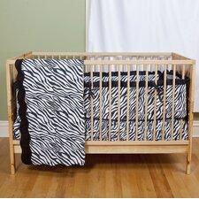 Zebra Baby 2 Piece Crib Bedding Set