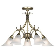 5 Light Classy Style Chandelier
