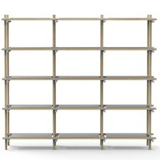 "Stick System 67.4"" H Five Shelf Shelving Unit"