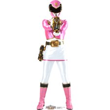 Pink - Power Rangers Megaforce Cardboard Stand-Up