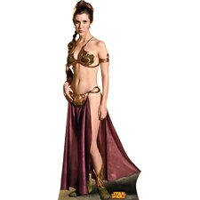 Star Wars Princess Leia Slave Girl Cardboard Standup