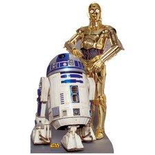 Star Wars R2-D2 & C-3P0 Life Size Cardboard Stand Up