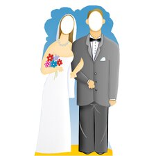 Life-Size Stand-Ins Wedding Couple Cardboard Stand-Up