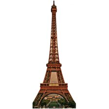 Eiffel Tower Cardboard Stand Up
