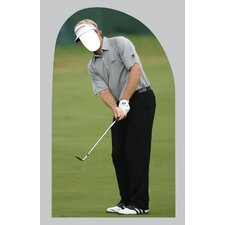 Life-Size Stand-Ins Golf Man Cardboard Stand-Up