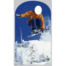 Life-Size Stand-Ins Snowboarder Cardboard Stand-Up