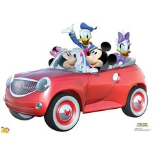 Disney Mickey Car Ride Stand-Up