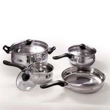 7 Piece Stainless Cookware Set