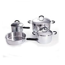 7 Piece Cookware Set With 7 Piece Tool Set
