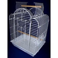 Open Scallop Play Top Bird Cage
