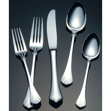 Cara Stainless Steel 5 Piece Place Setting