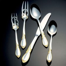 Cache Gold Accent 5 Piece Place Setting