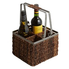 Caribbean  Accents 4 Bottle Wine Caddy
