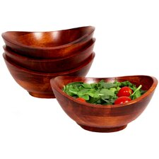 Boracay 4 Piece Individual Salad Bowl Set (Set of 4)