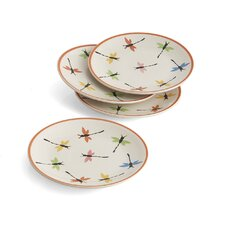 "Dragonfly 8"" Plate (Set of 4)"