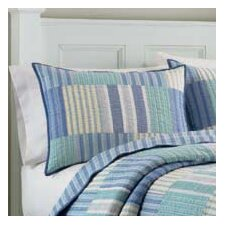 Belle Isle Cotton Quilt in Blue
