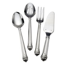 Stainless Flatware Portico Four Piece Hostess Set