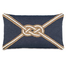 Ryder Strauss Denim Knot Lumbar Pillow