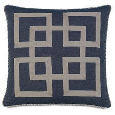 Ryder Strauss Denim Graphic Throw Pillow